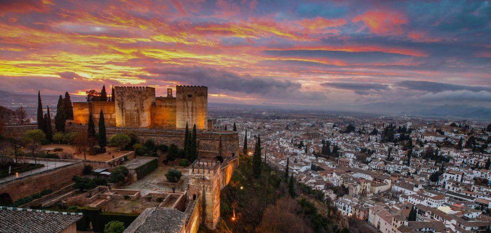 Storia Della Alhambra E Il Generalife Di Granada Riserva